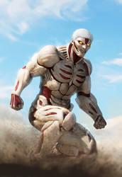 Armored Titan fan art