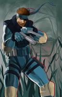 Solid Snake by jbarajasART