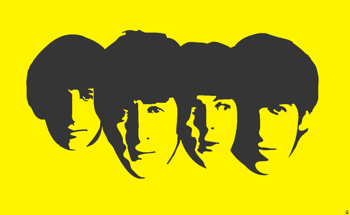 beatles stencil by heinpold -#main