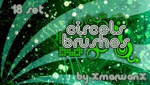 Circles Brushes by XMarwanX