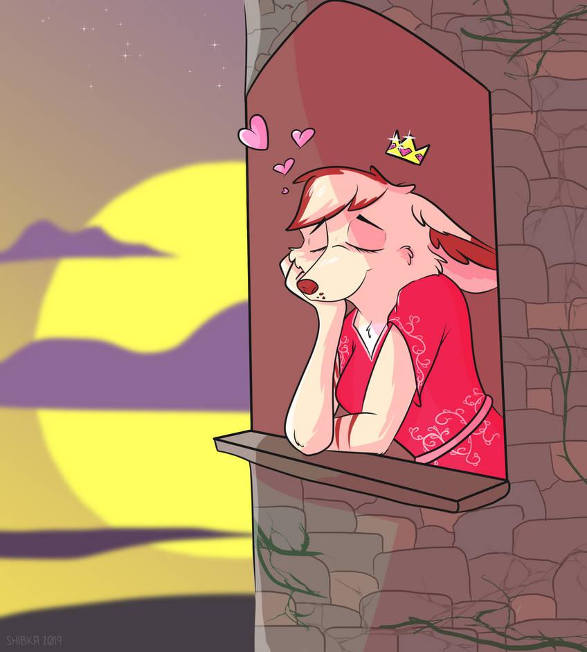 fennec princess vampii by Shibka