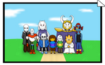 Glitchy Pacifist Ending (Glitchtale Anniversary)