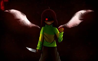The Angel... ? (ver 2) by GKTRRAkAkumu43