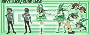 Mythical Precure!: Skye Luce/Cure Jade