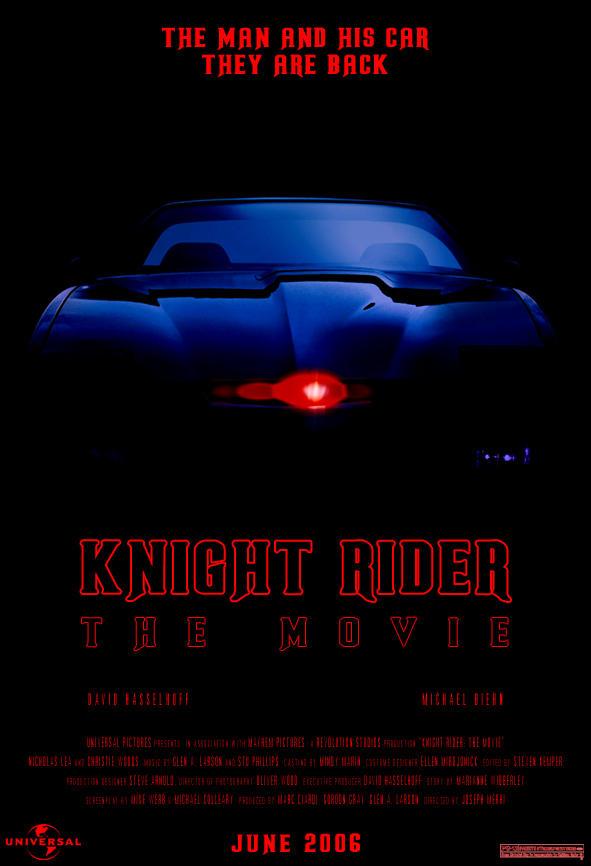 KittKnight Rider Art by Blue_Samurai