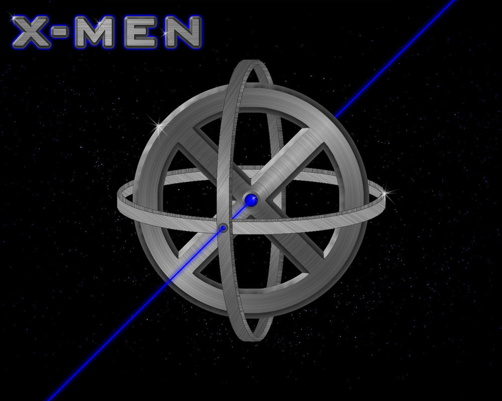 X-Men Logo in Space by...