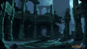 Isle Of Iron Statues Temple