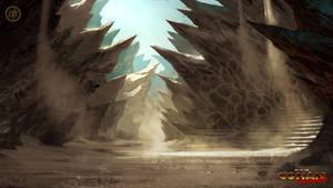 Dragon's Spine Village Entrance