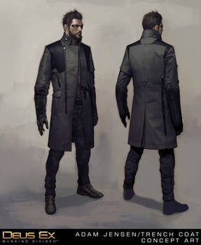 Adam Jensen's New Coat