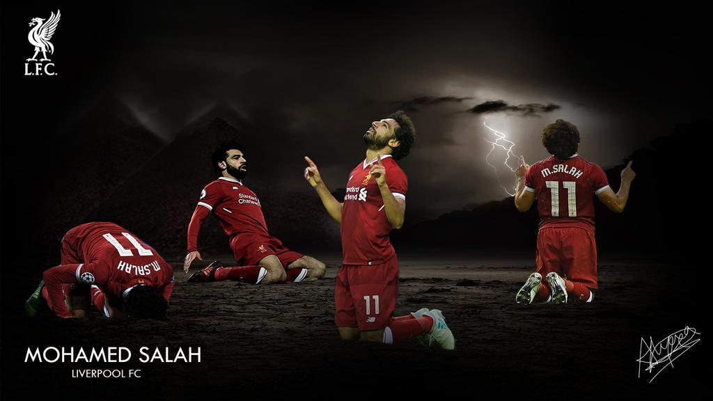 Mohamed Salah Desktop Wallpaper By Alicialfc On DeviantArt