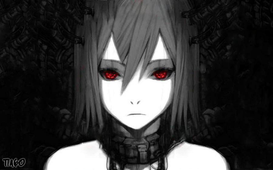 Dark girl by t1a60 on deviantart