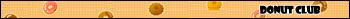 Donut Club Userbar by T1A60