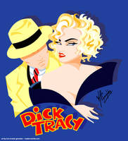 Madonna Dick Tracy by scrawnyfella