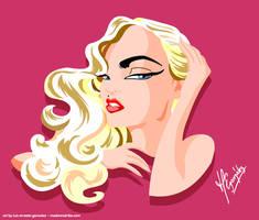Madonna Vogue by scrawnyfella