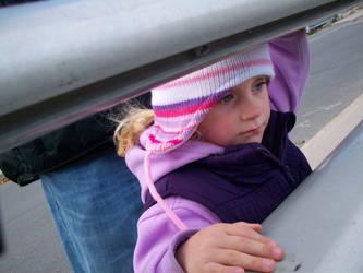 Niece On Bridge by scrawnyfella
