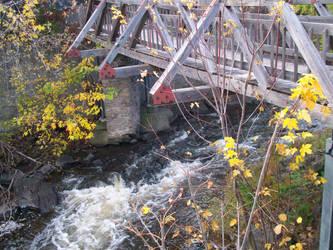 Bridge Over Creek Brockville by scrawnyfella