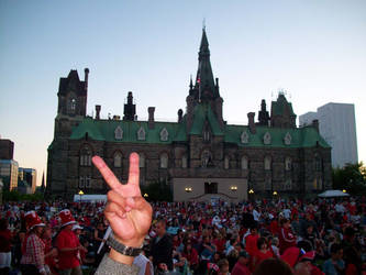 Peace At Parliament by scrawnyfella