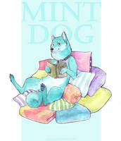 Mint dog by mad-m