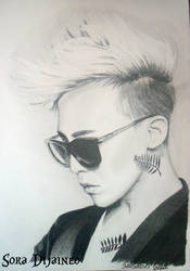 [G-DRAGON] BIGBANG by SoraDijaineo