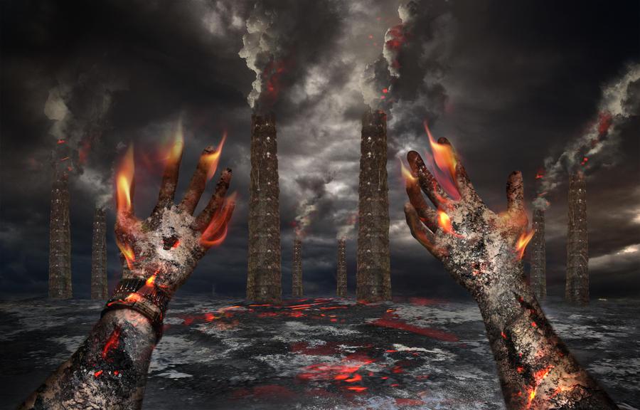 Burning by EmilisB