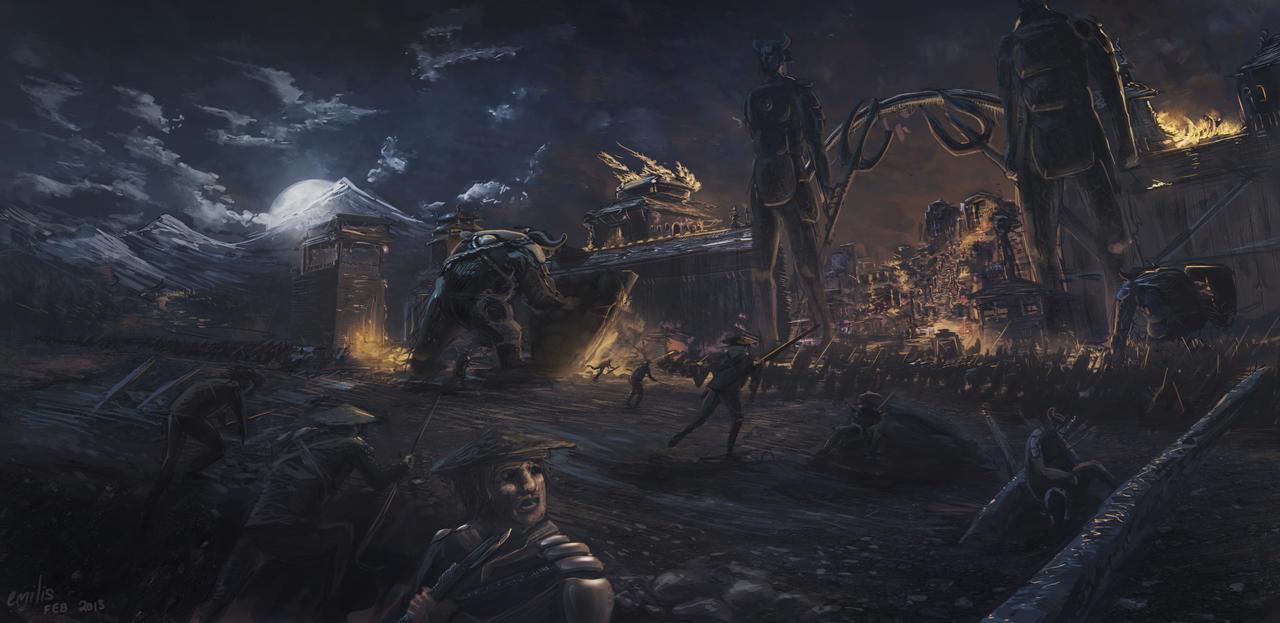 Midnight Invasion by EmilisB