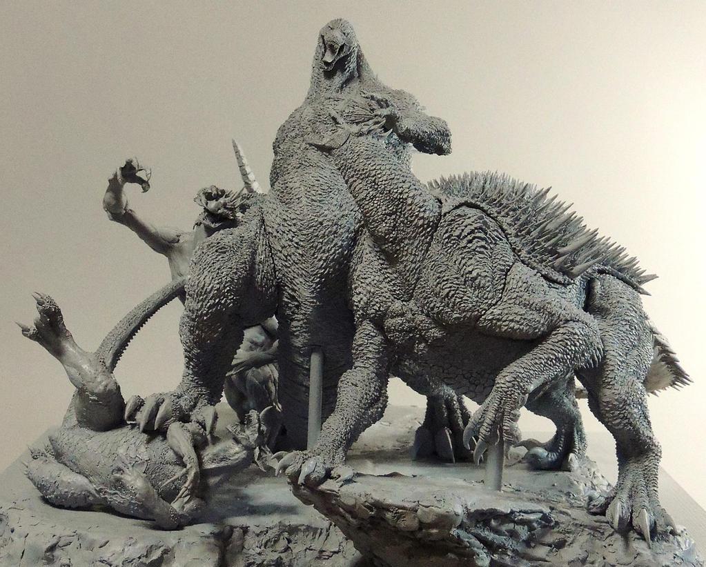 Anguirus Concept Art GODZILLA vs VAR...