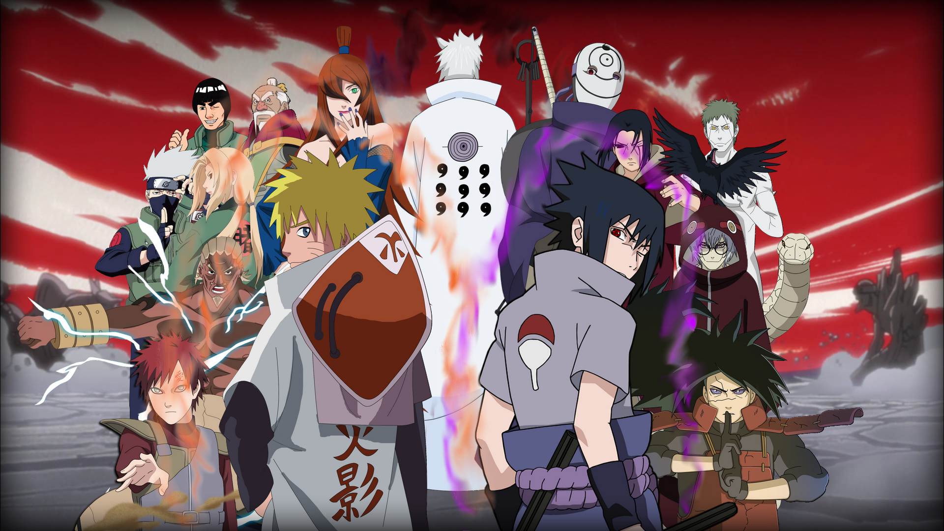 Naruto Shippuden War Wallpaper Full HD by brinx69 on DeviantArt