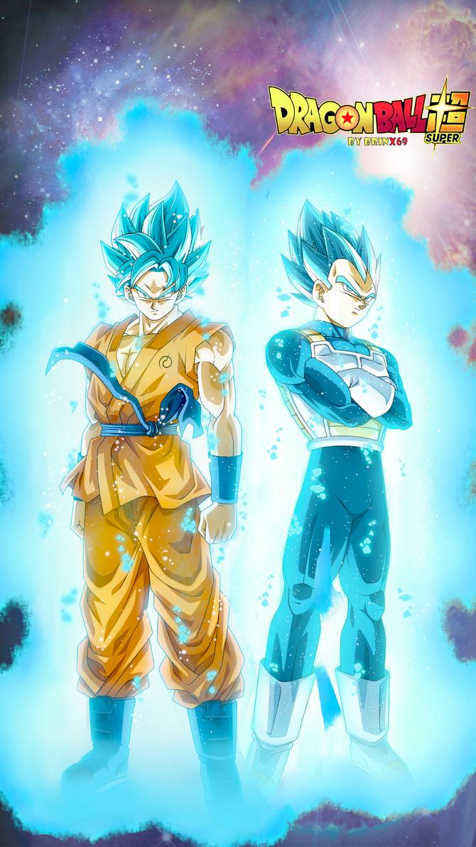 Vegeta Goku God Mode Super Saiyan Blue by brinx69 on ...