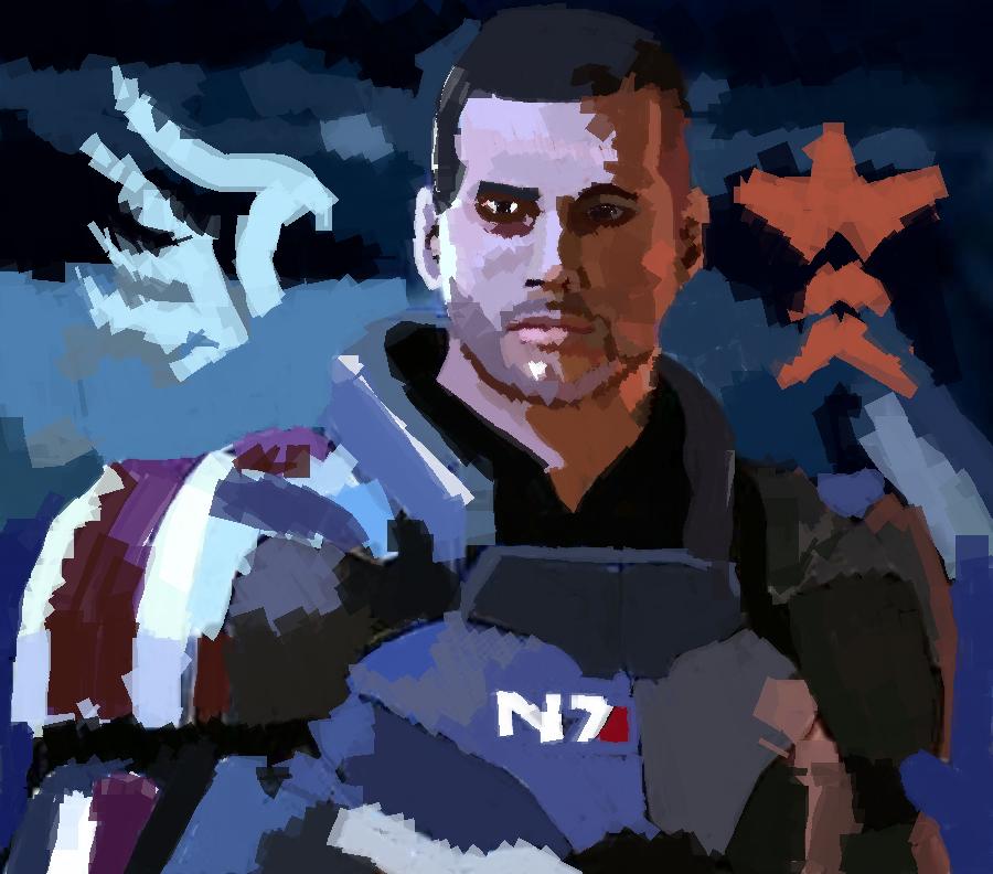 Shepard by Reeviant