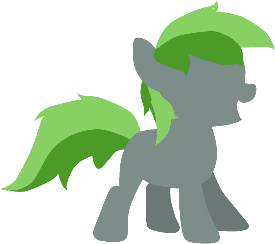 Minimal Filly Forest Rain by Daffodillfox