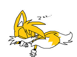 Sleepy Tails The Fox by Daffodillfox