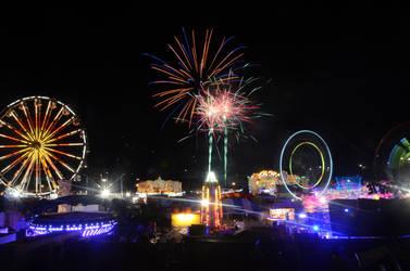 Sideshow Alley Fireworks by Callsign-Shutter