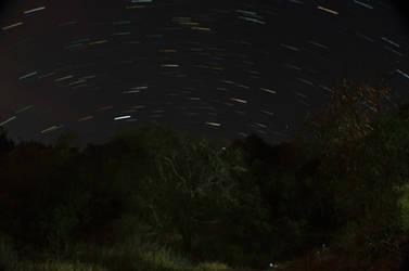 Glencoe Star Trails by Callsign-Shutter