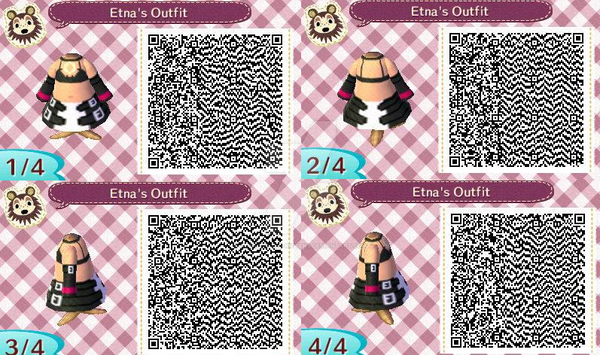 Etna QR Animal Crossing Design by Decapitated-Kittens