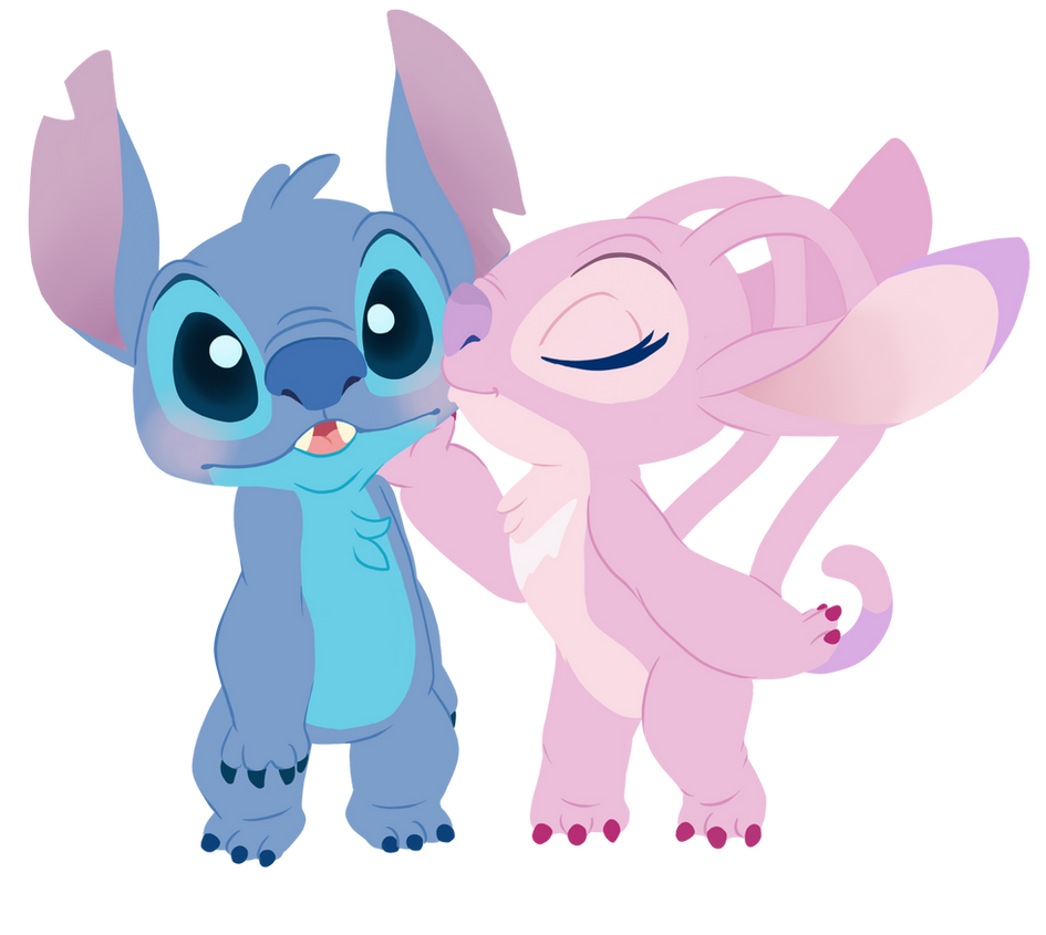 Angel And Stitch By Decapitated Kittens