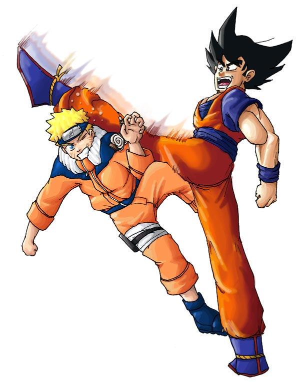 Goku vs Naruto by javiryo on DeviantArt