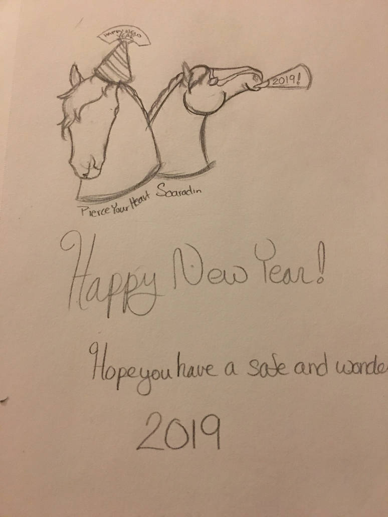 Happy New Year! by wolflover1214