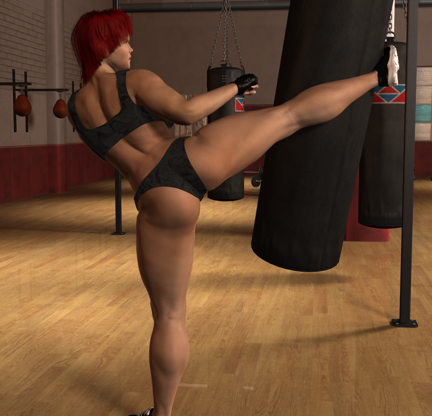 Alicia Training 2 by Veherzak