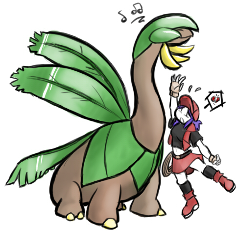 Shiny Tropius Tropius and ranger by streakhcTropius Evolution Chart