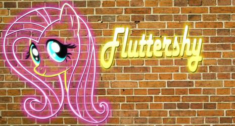 Fluttershy Ladrillos by KiduoShy