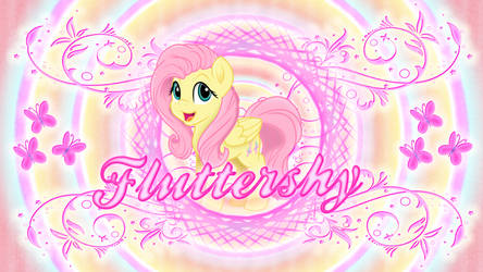 Fluttershy Wallpaper Supremo by KiduoShy