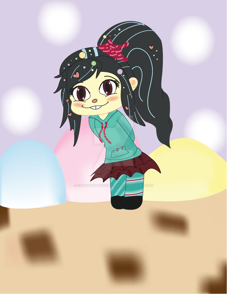 Vanellope by CatastrophicCupcakes