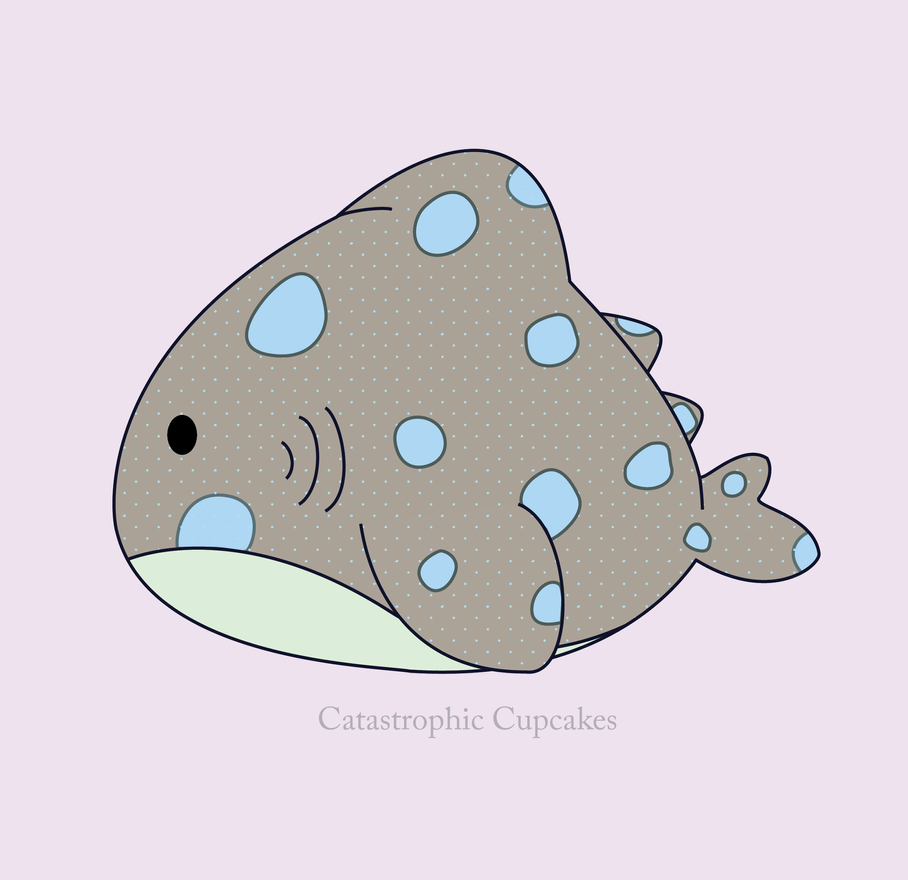 Cute Whale Shark by CatastrophicCupcakes