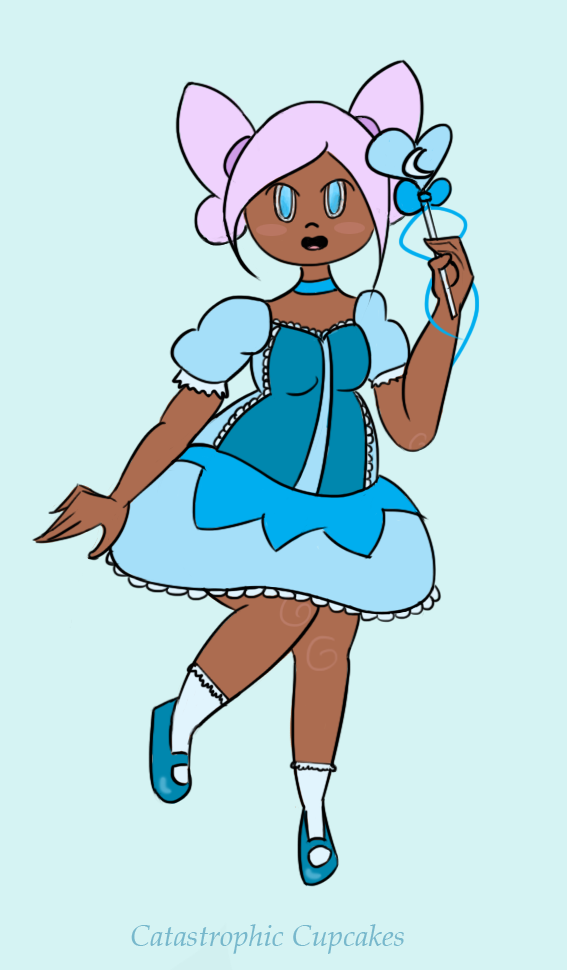 Lunar Frost Magical Girl by CatastrophicCupcakes