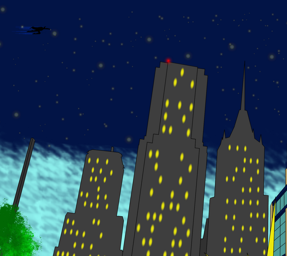 City of Heroes Skyline by RobCBH