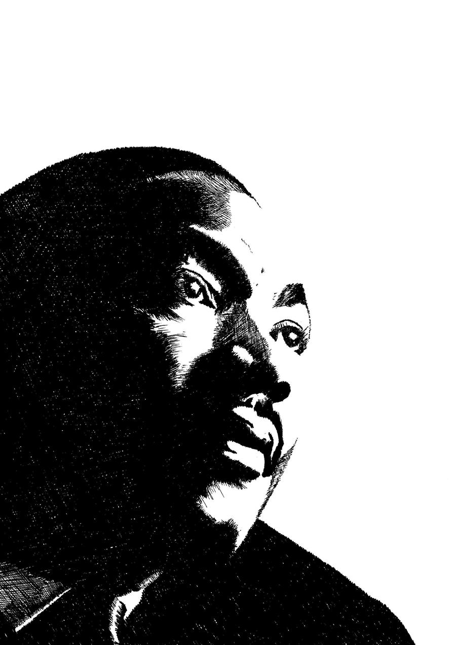 Martin Luther King by dariodella on deviantART