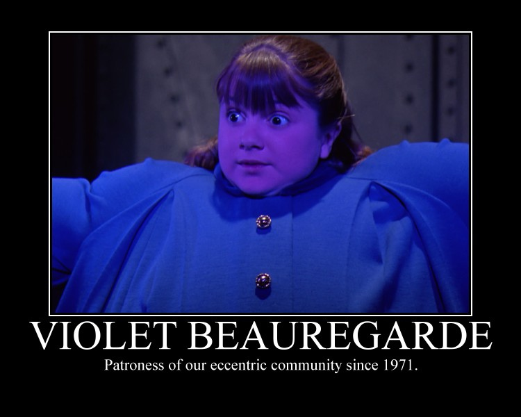 Violet Beauregarde by CountVonZeppelin