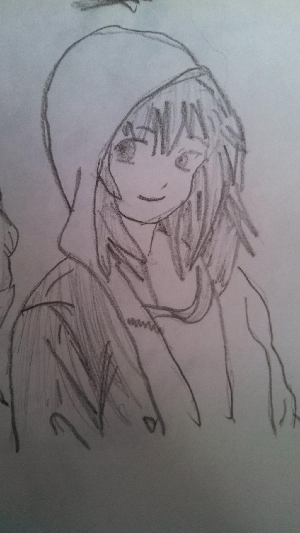 Anime Girl With HoodieHow To Draw Anime Girl With Hoodie