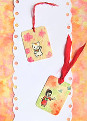 Cute Wooden Bookmarks