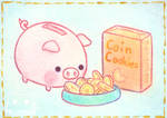 Coin Cookies by Mellymiew